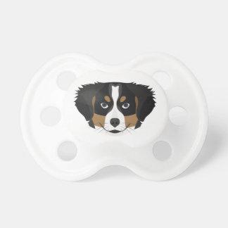 Illustration Bernese Mountain Dog Dummy