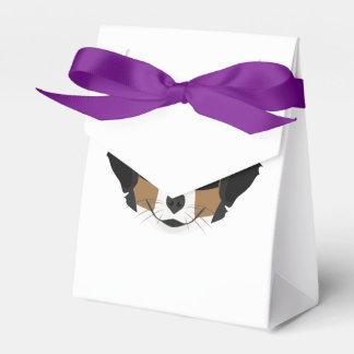 Illustration Bernese Mountain Dog Favour Box