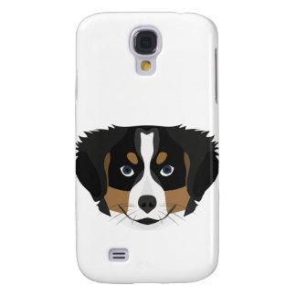 Illustration Bernese Mountain Dog Galaxy S4 Case