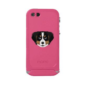 Illustration Bernese Mountain Dog Incipio ATLAS ID™ iPhone 5 Case