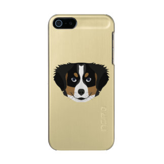 Illustration Bernese Mountain Dog Incipio Feather® Shine iPhone 5 Case