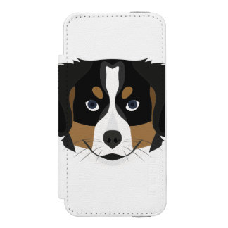 Illustration Bernese Mountain Dog Incipio Watson™ iPhone 5 Wallet Case