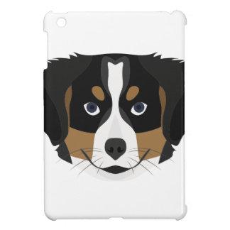 Illustration Bernese Mountain Dog iPad Mini Case