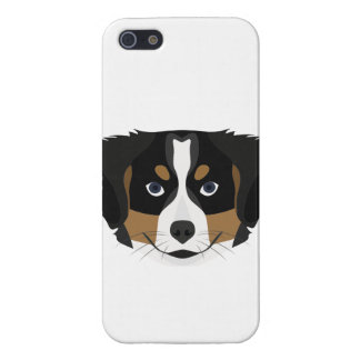 Illustration Bernese Mountain Dog iPhone 5/5S Cover