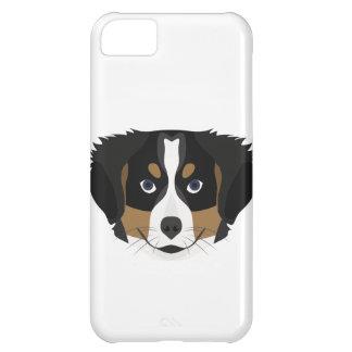 Illustration Bernese Mountain Dog iPhone 5C Case