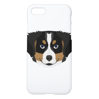 Illustration Bernese Mountain Dog iPhone 8/7 Case