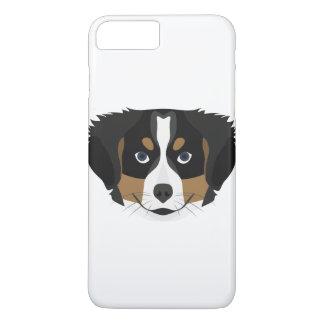 Illustration Bernese Mountain Dog iPhone 8 Plus/7 Plus Case