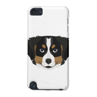Illustration Bernese Mountain Dog iPod Touch 5G Cases