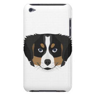 Illustration Bernese Mountain Dog iPod Touch Case