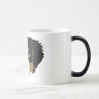 Illustration Bernese Mountain Dog Magic Mug