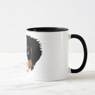 Illustration Bernese Mountain Dog Mug