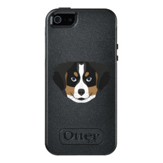 Illustration Bernese Mountain Dog OtterBox iPhone 5/5s/SE Case