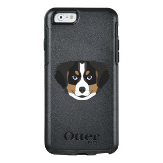 Illustration Bernese Mountain Dog OtterBox iPhone 6/6s Case