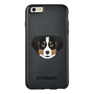 Illustration Bernese Mountain Dog OtterBox iPhone 6/6s Plus Case