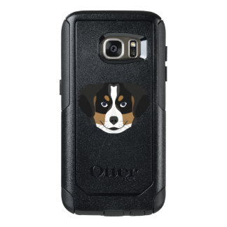 Illustration Bernese Mountain Dog OtterBox Samsung Galaxy S7 Case