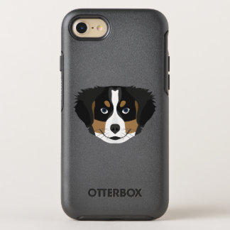 Illustration Bernese Mountain Dog OtterBox Symmetry iPhone 8/7 Case