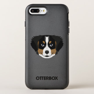 Illustration Bernese Mountain Dog OtterBox Symmetry iPhone 8 Plus/7 Plus Case