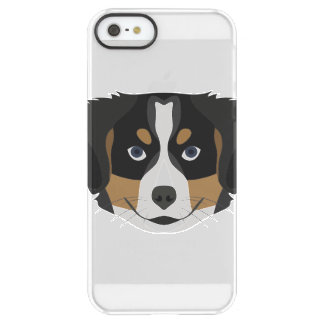 Illustration Bernese Mountain Dog Permafrost® iPhone SE/5/5s Case