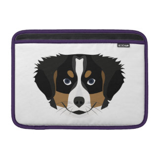 Illustration Bernese Mountain Dog Sleeve For MacBook Air