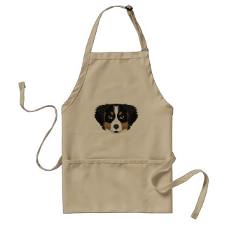 Illustration Bernese Mountain Dog Standard Apron