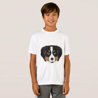Illustration Bernese Mountain Dog T-Shirt