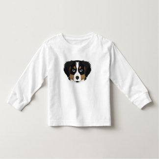 Illustration Bernese Mountain Dog Toddler T-Shirt