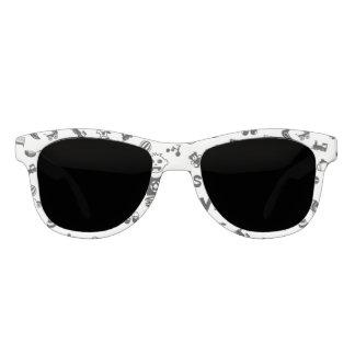 Illustration black IT'S A BOY! Sunglasses