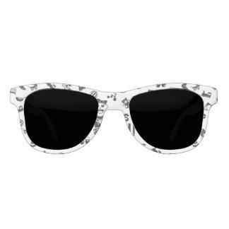 Illustration black IT'S A GIRL! Sunglasses