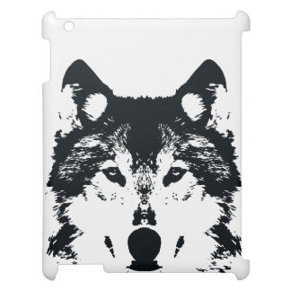 Illustration Black Wolf Case For The iPad