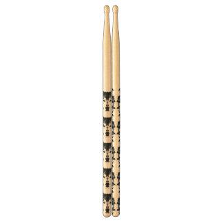 Illustration Black Wolf Drumsticks