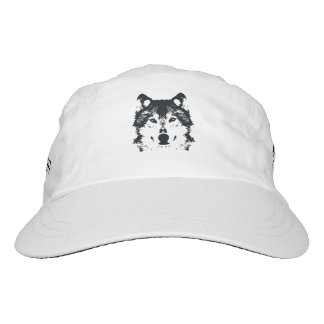 Illustration Black Wolf Hat