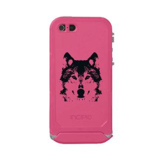 Illustration Black Wolf Incipio ATLAS ID™ iPhone 5 Case
