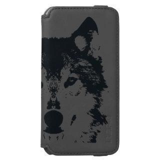 Illustration Black Wolf Incipio Watson™ iPhone 6 Wallet Case