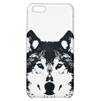 Illustration Black Wolf iPhone 5C Covers