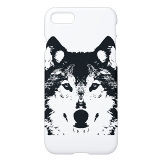 Illustration Black Wolf iPhone 8/7 Case
