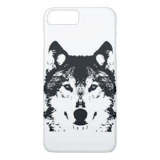 Illustration Black Wolf iPhone 8 Plus/7 Plus Case