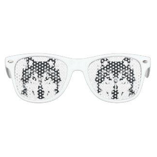 Illustration Black Wolf Kids Sunglasses