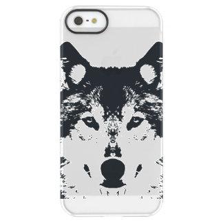 Illustration Black Wolf Permafrost® iPhone SE/5/5s Case