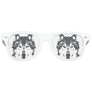 Illustration Black Wolf Retro Sunglasses