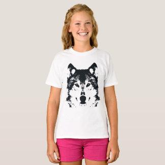 Illustration Black Wolf T-Shirt