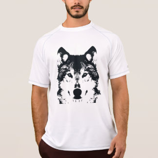 Illustration Black Wolf T-Shirt