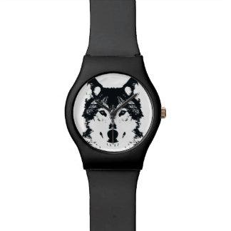 Illustration Black Wolf Watch