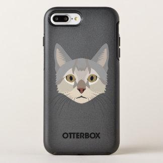 Illustration Cat Face OtterBox Symmetry iPhone 8 Plus/7 Plus Case