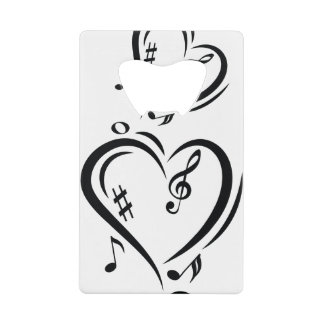Illustration Clef Love Music
