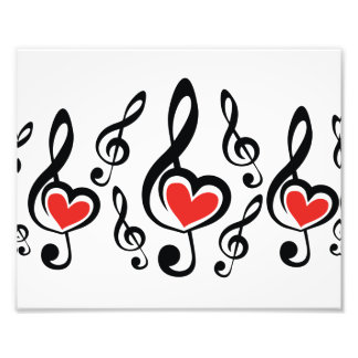 Illustration Clef Love Music Art Photo