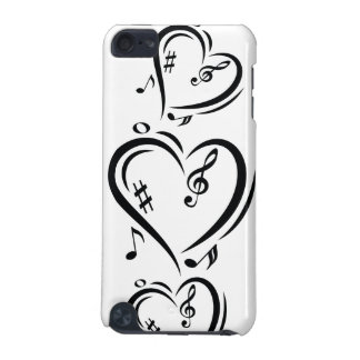 Illustration Clef Love Music iPod Touch (5th Generation) Case