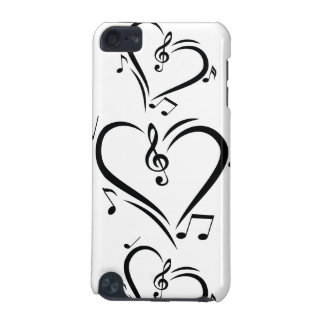 Illustration Clef Love Music iPod Touch (5th Generation) Cases