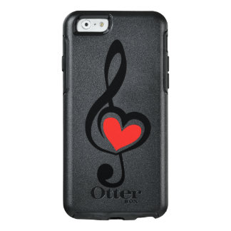 Illustration Clef Love Music OtterBox iPhone 6/6s Case