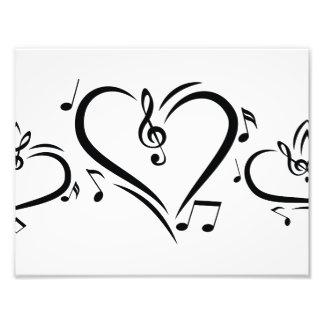 Illustration Clef Love Music Photo