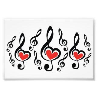 Illustration Clef Love Music Photo Art